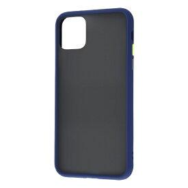 レイアウト rayout iPhone 11 Pro Max 6.5インチ 耐衝撃マットハイブリッド BABY SKIN/ダークネイビー RT-P22BS1/DN