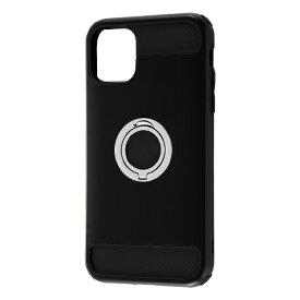 レイアウト rayout iPhone 11 6.1インチ 耐衝撃 リング360/ブラック RT-P21AC2/B