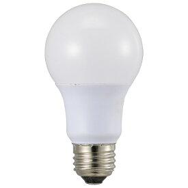 オーム電機 OHM ELECTRIC LED電球 E26 60形相当 広配光 電球色 2個入 LDA7L-GAG532P
