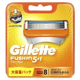 ジレット Gillette ジレット フュージョン5+1 髭剃り 替刃8個入【rb_pcp】