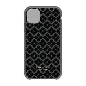 ケイト・スペード ニューヨーク kate spade new york iPhone 11 6.1インチ Hardshell SPADE FLOWER tonal BK/BM/NG KSIPH-131-SFTNB