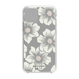 ケイト・スペード ニューヨーク kate spade new york iPhone 11 Pro 5.8インチ Hardshell HOLLYHOCK CR/blush/CG/CL KSIPH-130-HHCCS