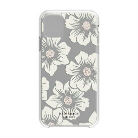 ケイト・スペード ニューヨーク kate spade new york iPhone 11 6.1インチ Hardshell HOLLYHOCK CR/blush/CG/CL KSIPH-131-HHCCS