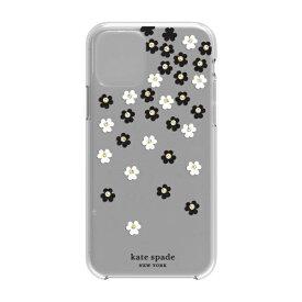 ケイト・スペード ニューヨーク kate spade new york iPhone 11 Pro 5.8インチ Hardshell SCATTERED FLOWERS BK/WH/GG/CL KSIPH-130-SFLBW