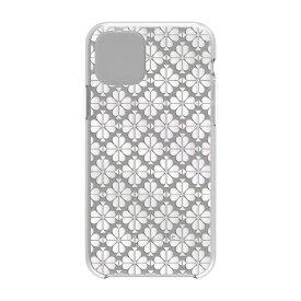 ケイト・スペード ニューヨーク kate spade new york iPhone 11 Pro 5.8インチ Hardshell SPADE FLOWER pearl foil/CG KSIPH-130-SFPRL