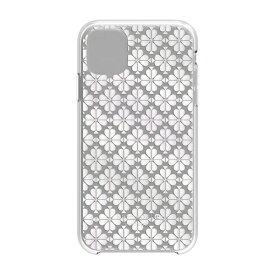 ケイト・スペード ニューヨーク kate spade new york iPhone 11 6.1インチ Hardshell SPADE FLOWER pearl foil/CG KSIPH-131-SFPRL