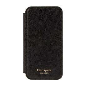 ケイト・スペード ニューヨーク kate spade new york iPhone 11 6.1インチ Inlay Folio black pu KSIPH-143-BLK