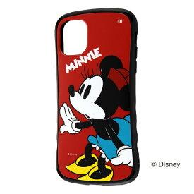 レイアウト rayout iPhone 11 6.1インチ ディズニー/耐衝撃 Curve/ミニー RT-DP21SC4/MN