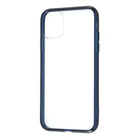 レイアウト rayout iPhone 11 6.1インチ ハイブリッド/ネイビー RT-P21CC2/DNM