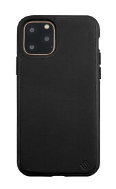 AEGIS iPhone 11 Pro 5.8インチ ECO LEATHER/ECO BACK SHELL CASE/Black UUIPDFHS04