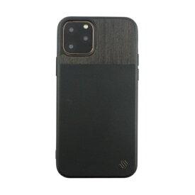 AEGIS iPhone 11 Pro 5.8インチ ECOレザー GENUINE WOOD BACK SHELL BK UUIPDFHS33
