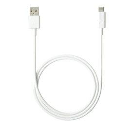 NTTドコモ NTT docomo 【NTTドコモ純正】1.0m[USB-A ⇔ USB-C]ケーブル 充電・転送 ホワイト