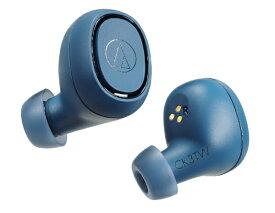 オーディオテクニカ audio-technica フルワイヤレスイヤホン ATH-CK3TW BL ブルー [リモコン・マイク対応 /ワイヤレス(左右分離) /Bluetooth][ワイヤレスイヤホン][ATHCK3TWBL]