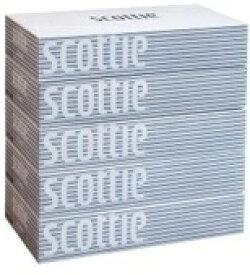 日本製紙クレシア crecia scottie(スコッティ) ティシュー 400枚(200組)×5箱パック