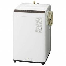パナソニック Panasonic NA-F60PB13-T 全自動洗濯機 Fシリーズ ブラウン [洗濯6.0kg /乾燥機能無 /上開き][洗濯機 6kg][NAF60PB13_T]