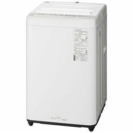 パナソニック Panasonic 全自動洗濯機 NA-F60B13-S シルバー [洗濯6.0kg /乾燥機能無 /上開き][洗濯機 6kg]