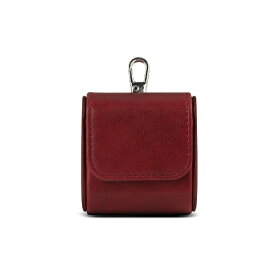 ROA ロア SQUARE LEATHER CASE for AirPods 無線充電対応 レッド HANSMARE