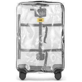クラッシュバゲージ CRASH BAGGAGE スーツケース M65L シェアコレクション TRANSPARENT CB142-50 [TSAロック搭載]