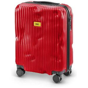 クラッシュバゲージ CRASH BAGGAGE スーツケース S40L ストライプコレクション RED CB151-16 [TSAロック搭載]