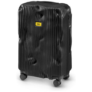クラッシュバゲージ CRASH BAGGAGE スーツケース M65L ストライプコレクション BLACK CB152-01 [TSAロック搭載]