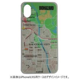 テラ バイオハザード ガラスケース MAP iPhone7/8 GCN-BHMA-A-TL グリーン