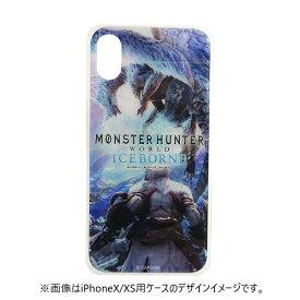 テラ モンスターハンター ガラスケース イヴェルカーナ iPhoneXR GCN-MHVE-D-TL ブルー