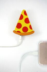 MOJIPOWER モジパワー モバイルバッテリー MOJIPOWER ピザ mojipower-pizza [2600mAh /1ポート /充電タイプ]