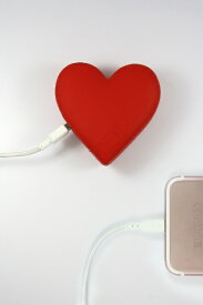 MOJIPOWER モジパワー モバイルバッテリー MOJIPOWER ハート mojipower-heart [2600mAh /1ポート /充電タイプ]