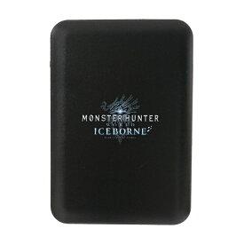 テラ モンスターハンター モバイルバッテリー5000 アイスボーンロゴBK SC5-MHIC-BK ブラック