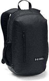アンダーアーマー UNDER ARMOUR 男女兼用 バックパック UA Roland Backpack(W30cm x D15cm x H48cm/Black / Black / Silver) 1327793-001