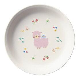 台和 Daiwa メラミン お子様食器「アルパカーナ」 主菜浅皿 白 MC-34-ALW <RAR0601>[RAR0601]