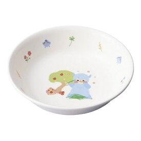 台和 Daiwa メラミン お子様食器「アルパカーナ」 主菜深皿 白 MC-50-ALW <RAR0701>[RAR0701]