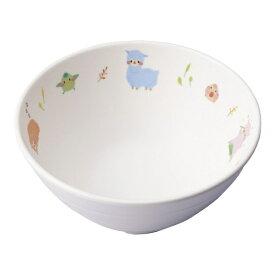 台和 Daiwa メラミン お子様食器「アルパカーナ」 飯茶碗小 白 YH-530-ALW <RAR1001>[RAR1001]