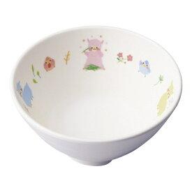 台和 Daiwa メラミン お子様食器「アルパカーナ」 茶碗ミニ 白 YH-570-ALW <RAR1101>[RAR1101]