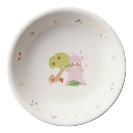 台和 Daiwa メラミン お子様食器「アルパカーナ」 小皿 白 MC-52-ALW <RAR1201>[RAR1201]