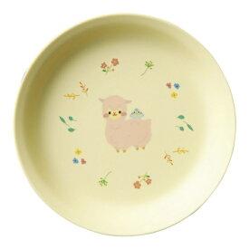 台和 Daiwa メラミン お子様食器「アルパカーナ」 主菜浅皿 イエロー MC-34-ALY <RAR1601>[RAR1601]