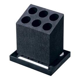 イシガキ産業 ISHIGAKI 珪藻土 アンブレラスタンド 6本斜め ブラック HO1960 <ZAV5302>[ZAV5302]