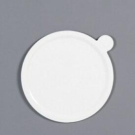 中澤函 NAKAZAWA HACO デコラプレート カルトンロンド φ185mm(25枚入) ホワイト <NDK2603>[NDK2603]