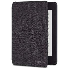 Amazon アマゾン Amazon Kindle Paperwhite (第10世代) 用 ファブリックカバー B079GH79HV チャコールブラック