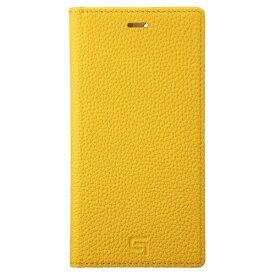 坂本ラヂヲ Shrunken-calf Leather Book for iPhone 11 Pro 5.8インチ YLW GBCSC-IP01YLW