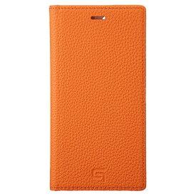 坂本ラヂヲ Shrunken-calf Leather Book for iPhone 11 Pro 5.8インチ ORG GBCSC-IP01ORG
