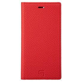 坂本ラヂヲ Shrunken-calf Leather Book for iPhone 11 Pro 5.8インチ RED GBCSC-IP01RED