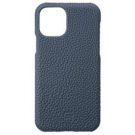 坂本ラヂヲ Shrunken-calf Leather Shell for iPhone 11 Pro 5.8インチ NVY GSCSC-IP01NVY