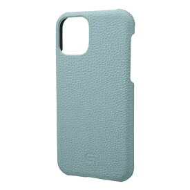 坂本ラヂヲ Shrunken-calf Leather Shell for iPhone 11 Pro 5.8インチ BBL GSCSC-IP01BBL