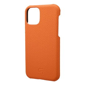 坂本ラヂヲ Shrunken-calf Leather Shell for iPhone 11 Pro 5.8インチ ORG GSCSC-IP01ORG