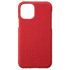 坂本ラヂヲ Shrunken-calf Leather Shell for iPhone 11 Pro 5.8インチ RED GSCSC-IP01RED