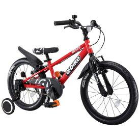 アイデス ides 16型 幼児用自転車 D-BIKE MASTER 16V 補助輪付き(レッド/シングルシフト)【3歳半以上向け】【組立商品につき返品不可】 【代金引換配送不可】