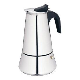Kela ケラ エスプレッソコーヒーメーカー バリ 6カップ用 350cc 10601 <PKE2602>[PKE2602]
