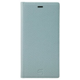 坂本ラヂヲ Shrunken-calf Leather Book for iPhone 11 Pro Max 6.5インチ BBL GBCSC-IP03BBL
