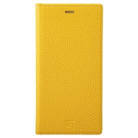 坂本ラヂヲ Shrunken-calf Leather Book for iPhone 11 Pro Max 6.5インチ YLW GBCSC-IP03YLW